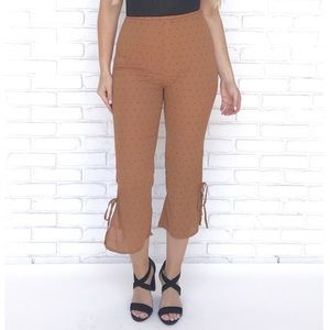 3/$25 Honey Punch Capri Pants